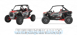 Polaris RZR XP TURBO S Homologacja L7e