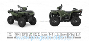 Polaris Sportsman 570 EPS Hunter Homolog. traktor