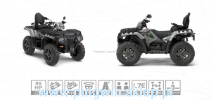 Polaris Sportsman Touring XP 1000 Homologacja L7e