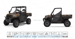 Polaris Ranger XP 1000 Hunter Homologacja traktor