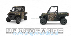 Polaris Ranger XP 1000 Hunter LE Homolog traktor